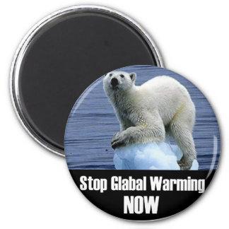Imã Pare o aquecimento global agora
