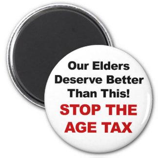 Imã Pare o imposto da idade