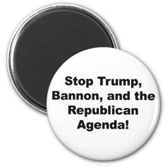 Imã Pare o trunfo, o Bannon e a agenda republicana