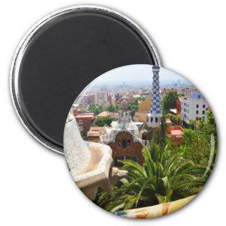 Imã Parque Guell em Barcelona, espanha