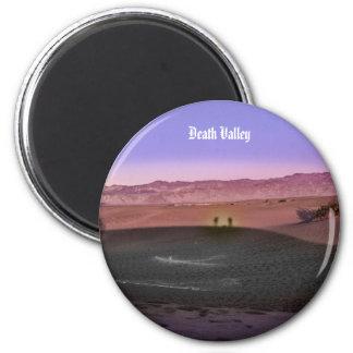 Imã Parque nacional de Vale da Morte do nascer do sol