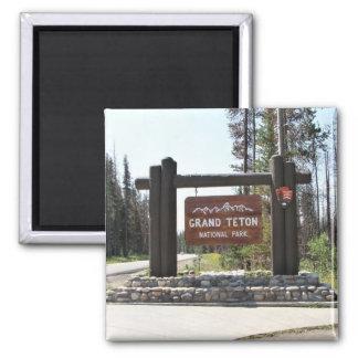 Imã Parque nacional grande de Teton, parque nacional