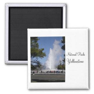 Imã Parques nacionais - ímã de Yellowstone
