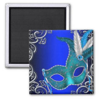 Imã Partido do mascarada dos azuis marinhos