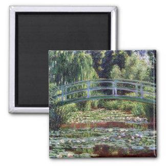 Imã Passadiço japonês de Monet e a piscina do lírio de
