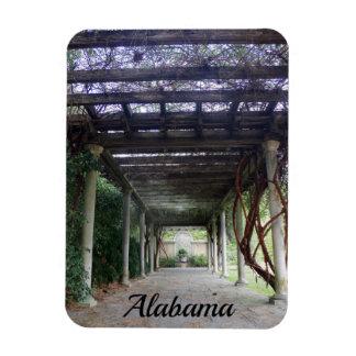 Ímã Passagem do jardim de Alabama