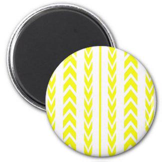 Imã Passo amarelo do pneu