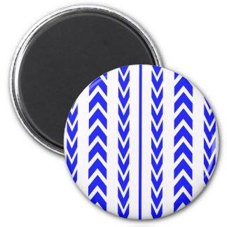 Imã Passo azul do pneu