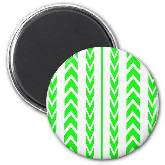 Imã Passo verde do pneu