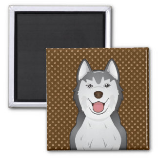 Imã Patas dos desenhos animados do cão do rouco