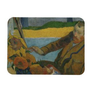 Ímã Paul Gauguin - Vincent van Gogh que pintam