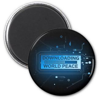 Imã Paz de mundo da transferência
