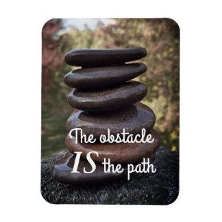 Ímã Pedras inspiradores do zen das palavras das