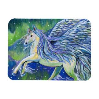 Ímã Pegasus na luz do norte