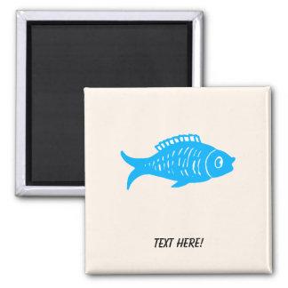 Imã Peixes azuis