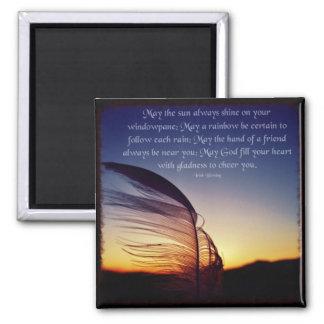 Imã Pena no ímã das citações da foto do vento