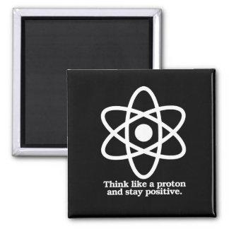 Imã Pense como Proton e permaneça - - Pro-Scie