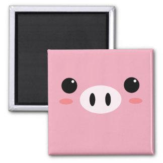 Ímã pequeno bonito do porco ímã quadrado