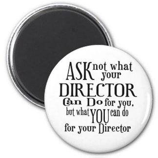 Imã Pergunte não a diretor