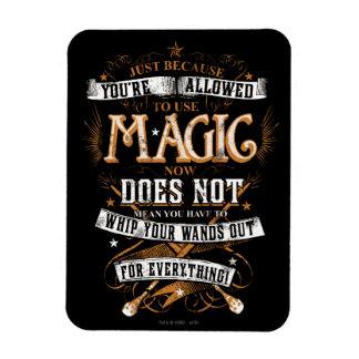 Ímã Período | de Harry Potter apenas porque T é