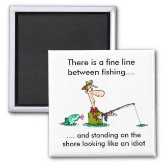 Imã pesca dos desenhos animados.