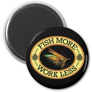 Imã PESQUE a pesca com mosca mais salmon