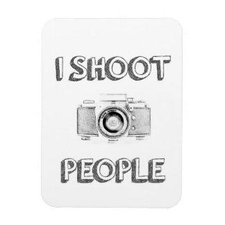 Ímã pessoas do fotógrafo engraçado da câmera da foto