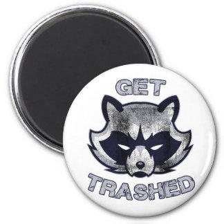 Imã Pessoas do partido da panda do lixo