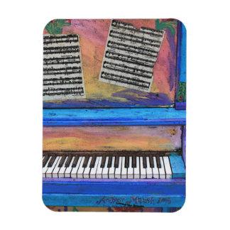 Ímã Piano colorido
