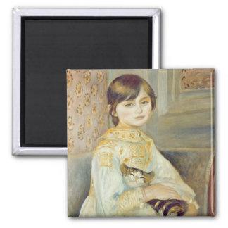 Imã Pierre um Renoir | Julie Manet com gato