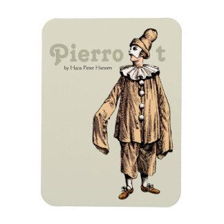 Ímã Pierrot por Hans Peter Hansen CC0176