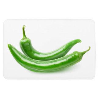Ímã Pimentas de pimentão verdes