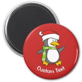 Imã Pinguim do Natal que anda na neve
