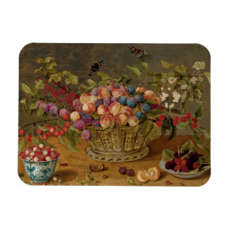 Ímã Pintura de Isaak Soreau das frutas