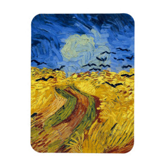 Ímã Pintura famosa dos campos de trigo de Van Gogh