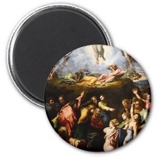 """Imã Pintura original """"a transfiguração"""" Raffaello"""