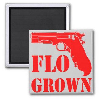 Imã Pistola crescida Flo FB.com/USAPatriotGraphics