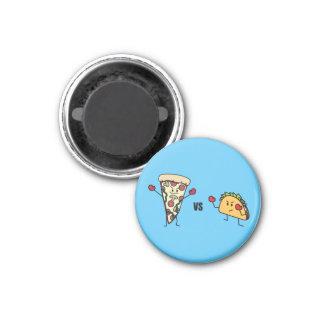 Imã Pizza de Pepperoni CONTRA o Taco: Mexicano contra