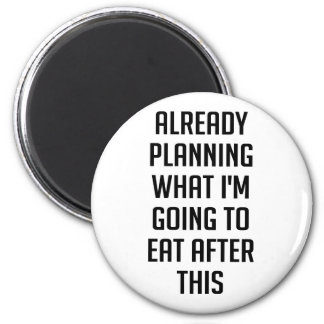Imã Planeando que comer