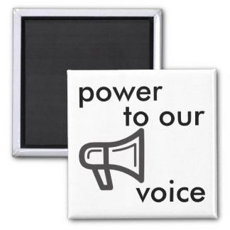 Imã poder a nossa voz