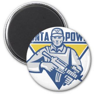 Imã Poder ucraniano da junta do exército