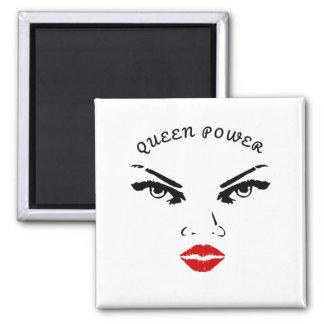 Imã Poder vermelho da rainha dos lábios