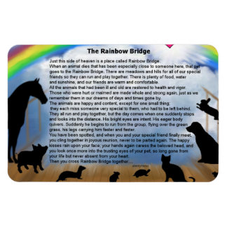 Ímã Poema da ponte do arco-íris