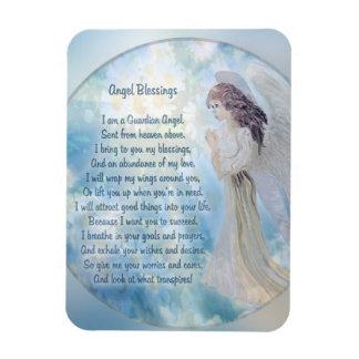 Ímã Poema das bênçãos do anjo