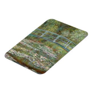 Ímã Ponte da arte de Monet sobre uma lagoa de lírios
