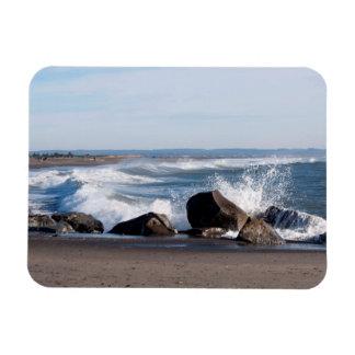 Ímã Ponto de Damon nas costas do oceano, WA