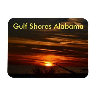 Ímã Por do sol da costa do golfo