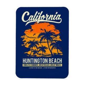 Ímã Por do sol de Huntington Beach Califórnia