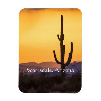 Ímã Por do sol de Scottsdale antes da tempestade
