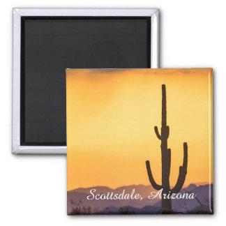 Imã Por do sol de Scottsdale antes da tempestade